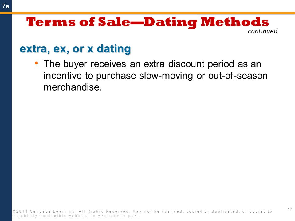 eom dating is the same as
